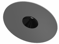 LED Downlight LFO Fascis Single mit Ausblendtubus