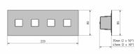 LED Duobus Micro EBCR 200-50